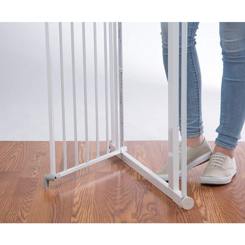Puerta de seguridad de metal con Cierre a presión Safety 1 st