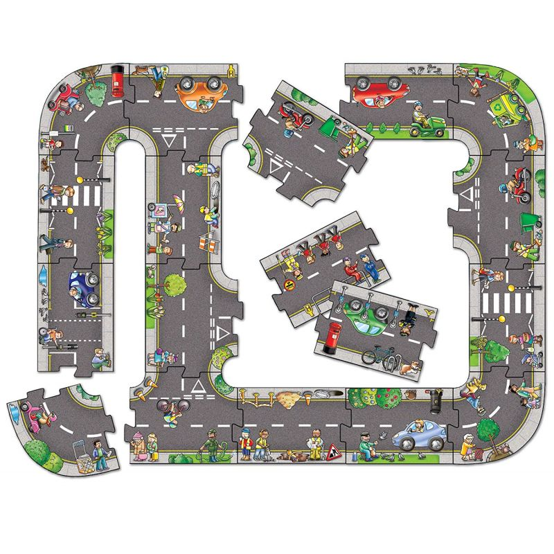 Puzzle Carretera de Juguete para NIños