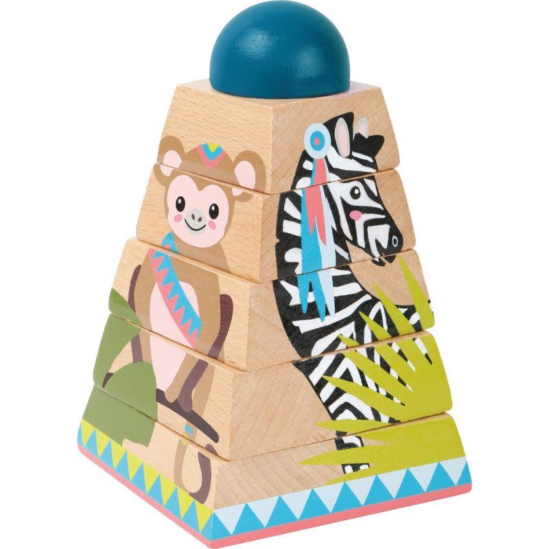 puzzle para niños piramide