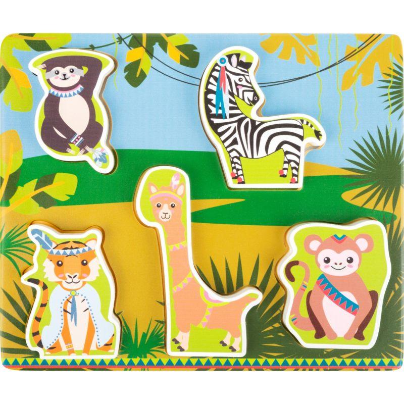 Puzzle de madera Animales de la Jungla - Legler