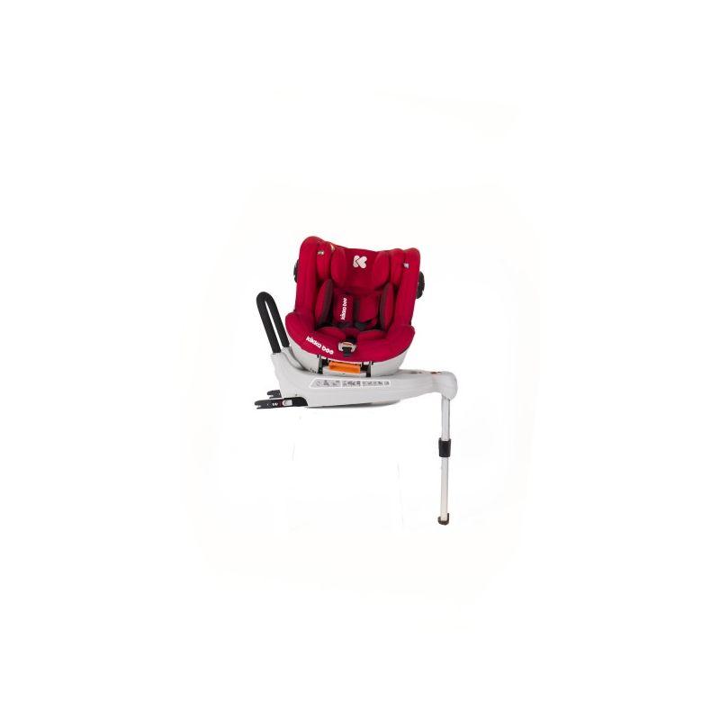 Silla de Coche Grupo 0+/1 360 Grados Isofix Roll & Go  - Kikkaboo