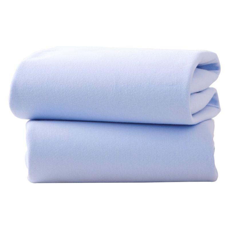 Sabanas bajeras azules para capazos