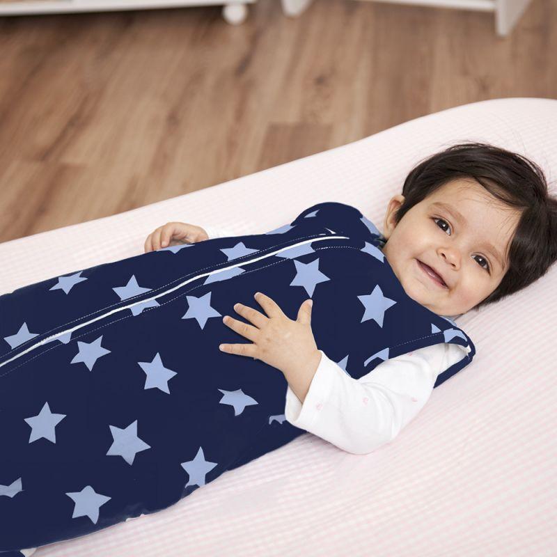 Saco dormir 3 en 1 de  2.5 Tog Estrellas Azules