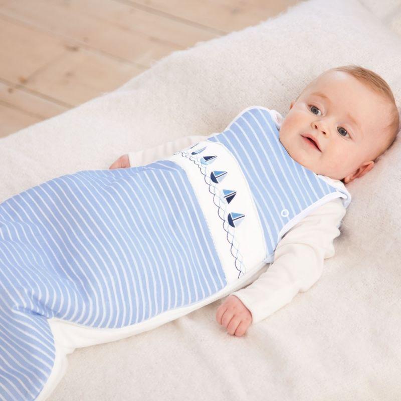 Saco de dormir para Bebé Bordado Marinero