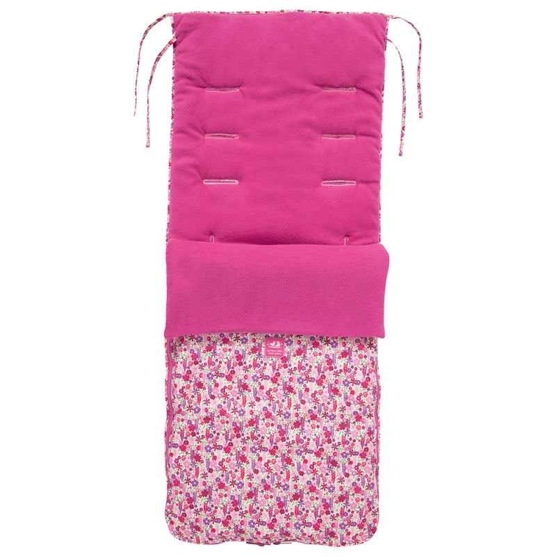 Saco Universal Silla Paseo - JojoMamanBebe , color flores brillantes