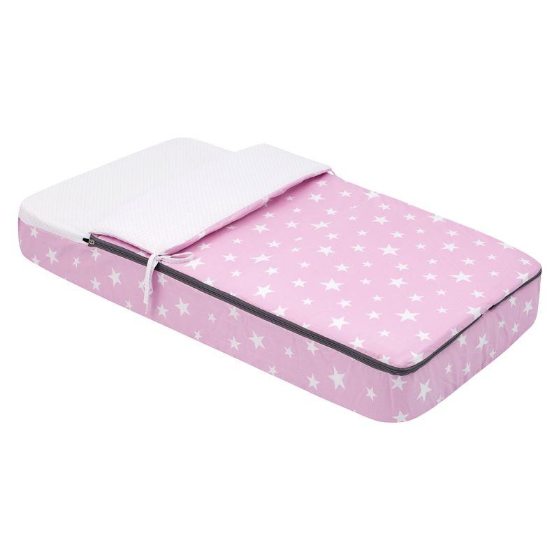 Saco de cuna Invierno/Verano 60 x 120 cm Be Universe rosa - Cambrass