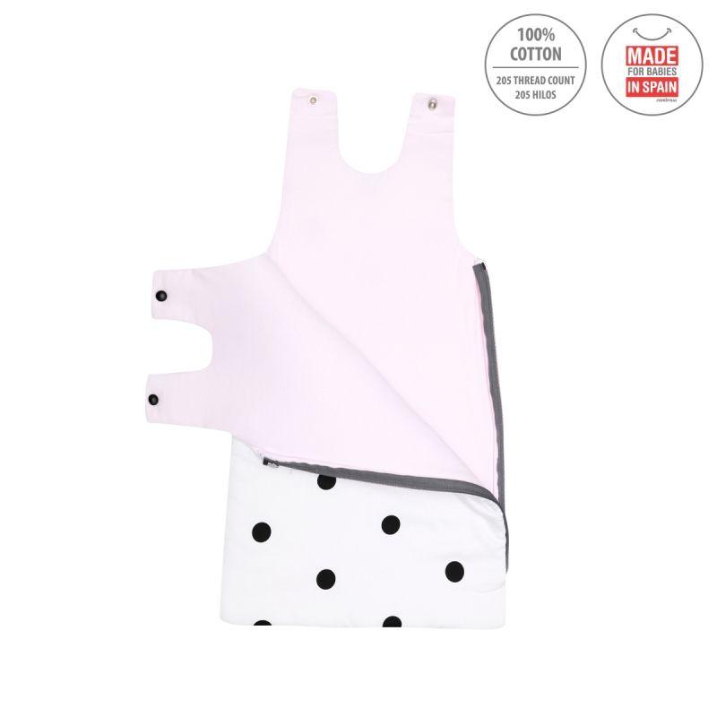 Saco de Dormir Bebé 70 cms Be Dots rosa - Cambrass