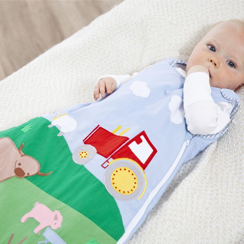 Saco de dormir Bebé 2.5 Tog granja