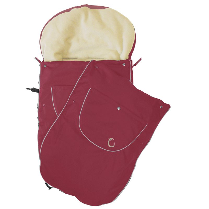 Saco Para Silla de Paseo para el Verano e Invierno en color Rojo  de Hippychick