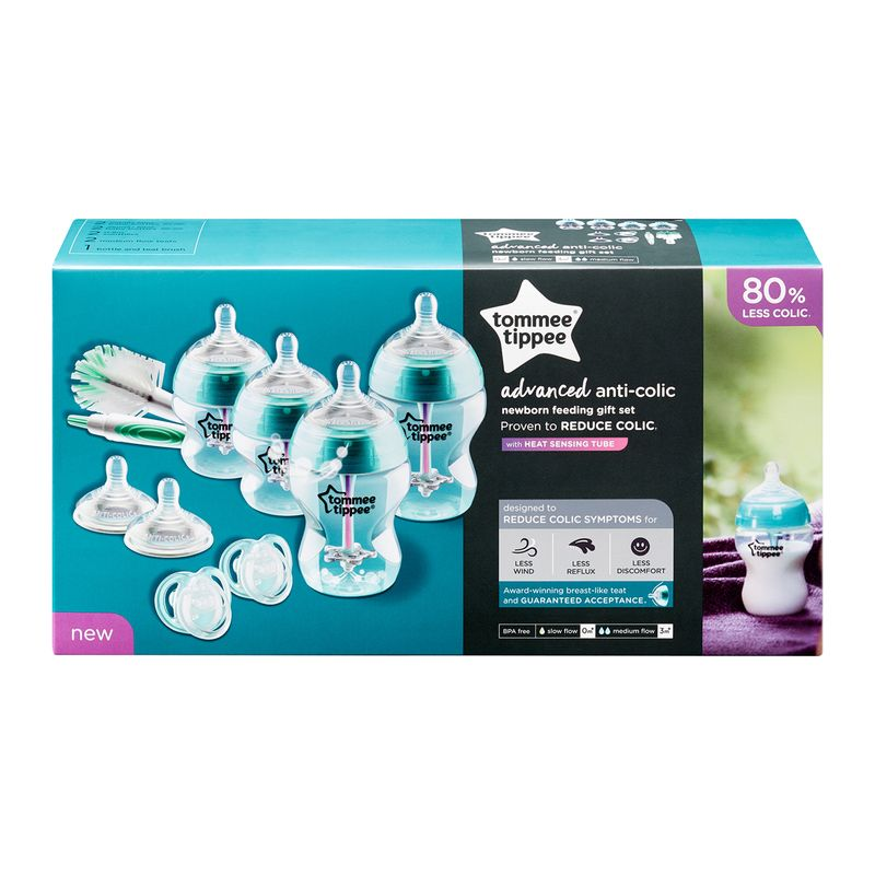 Set de Biberones anticólicos Tommee Tippee Advanced