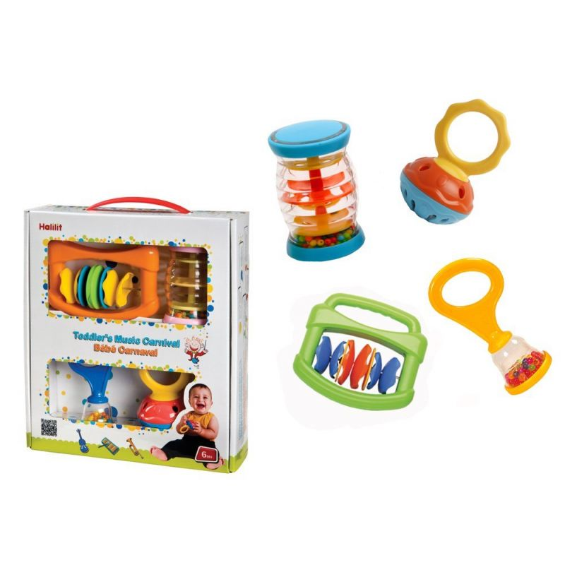 Set Musical Carnaval - Halilit  6 Meses +