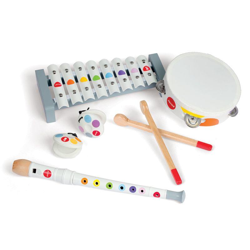 Set de 4 instrumentos Musicales - Janod