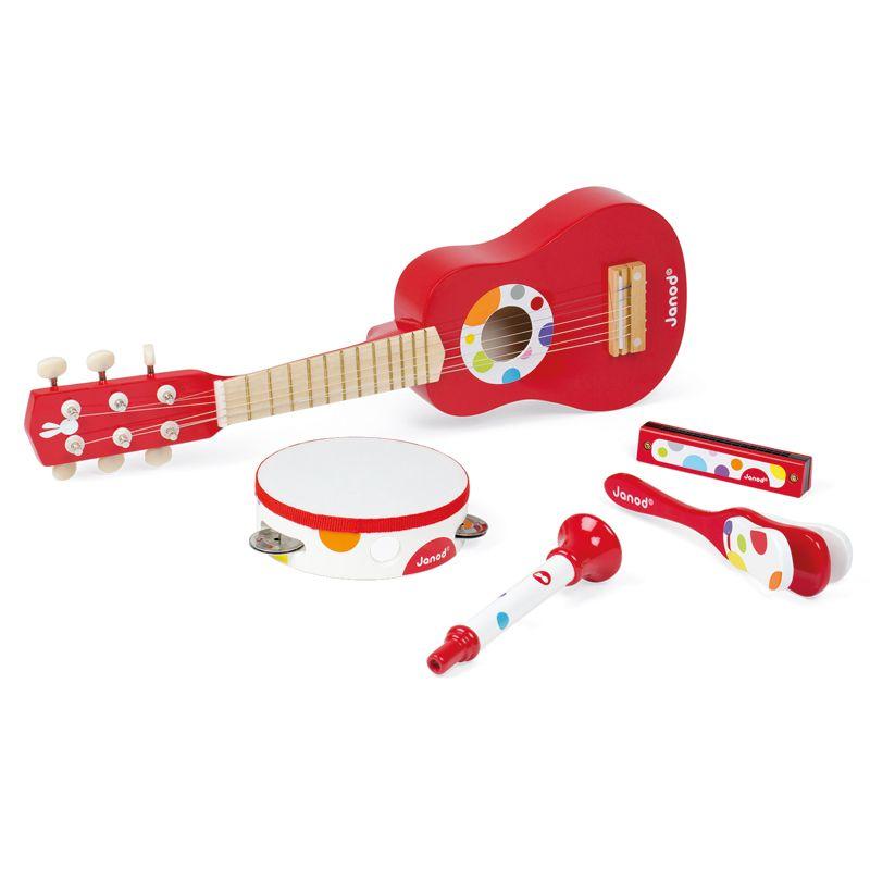 Set de 5 Instrumentos Musicales - Janod
