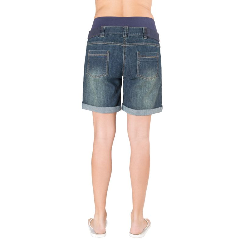 Short Premamá Denim