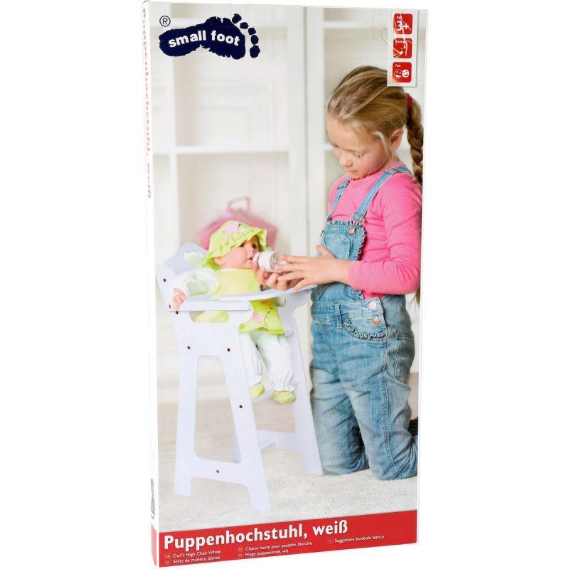 Silla Alta para muñecas con Mesa Plegable - Legler