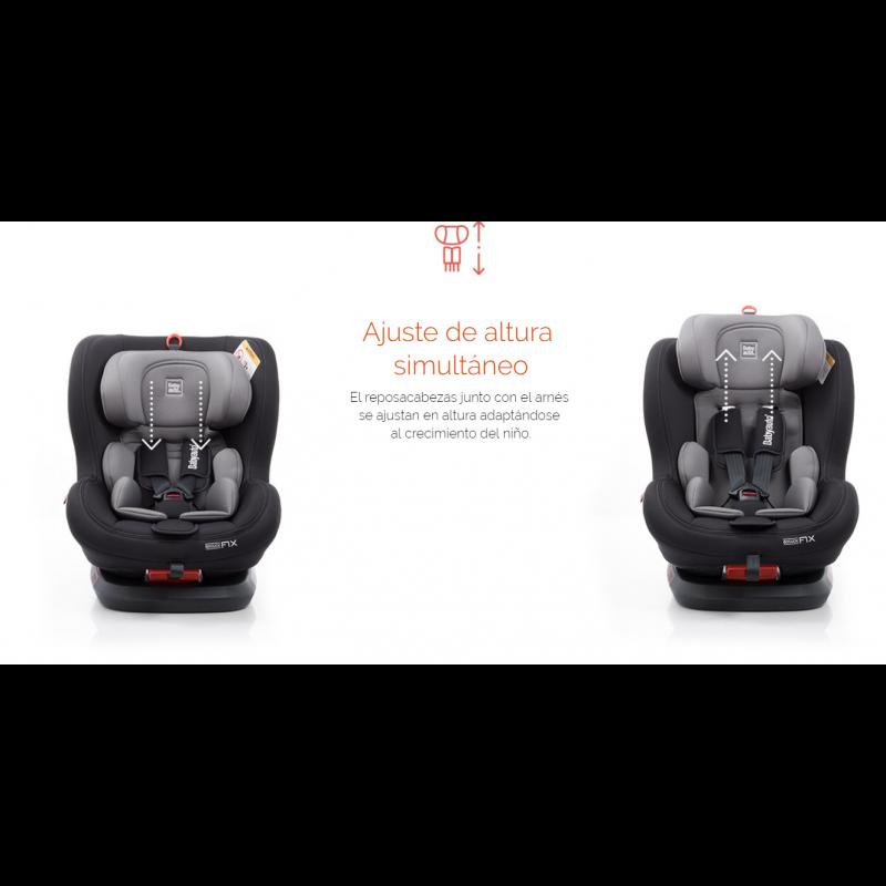 Silla de coche Biro Fix Babyauto Grupo 0+/1/2 ajusta de altura