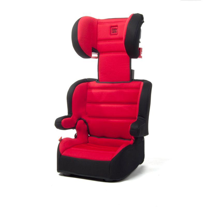 Silla Coche Cubox  Grupo 2/3 Babyauto roja y negra