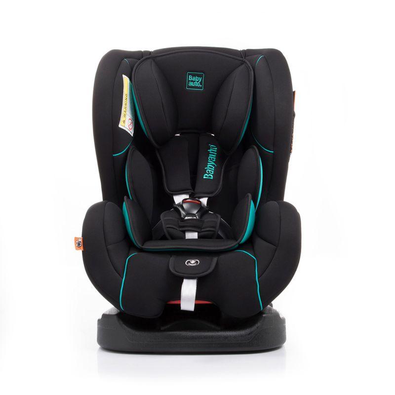 Silla de Coche Patxu Grupo 0+/1 Babyauto color negro y azul turquesa