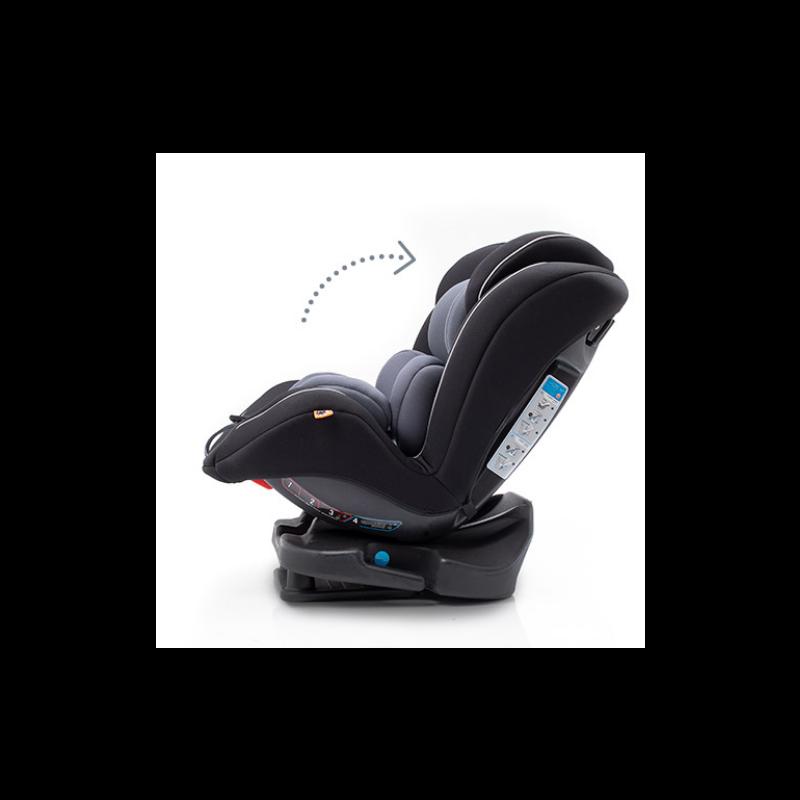 Silla de Coche Grupo 0/1/2/3 (0-36 kg) Taiyang negra y antracita - babyauto