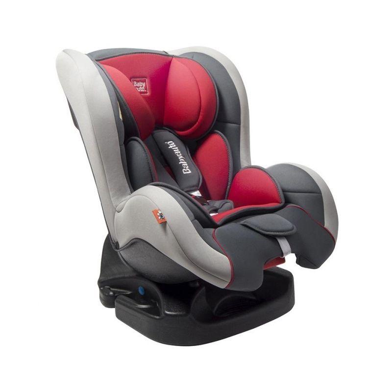 Silla de Coche Grupo 0/1 Irbag Top - Babyauto antracita rojo y gris claro