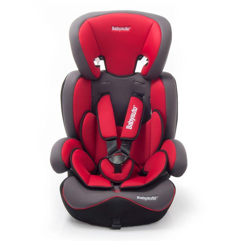 Silla Coche Konar Grupo 1/2/3 Babyauto  roja