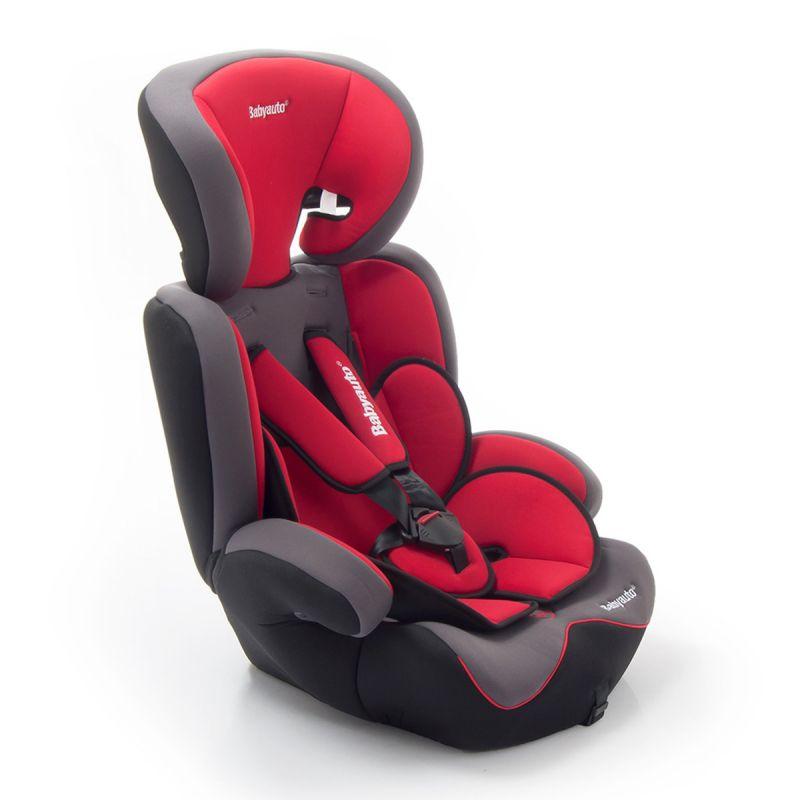 Silla de Coche Konar Grupo 1/2/3 Babyauto color rojo