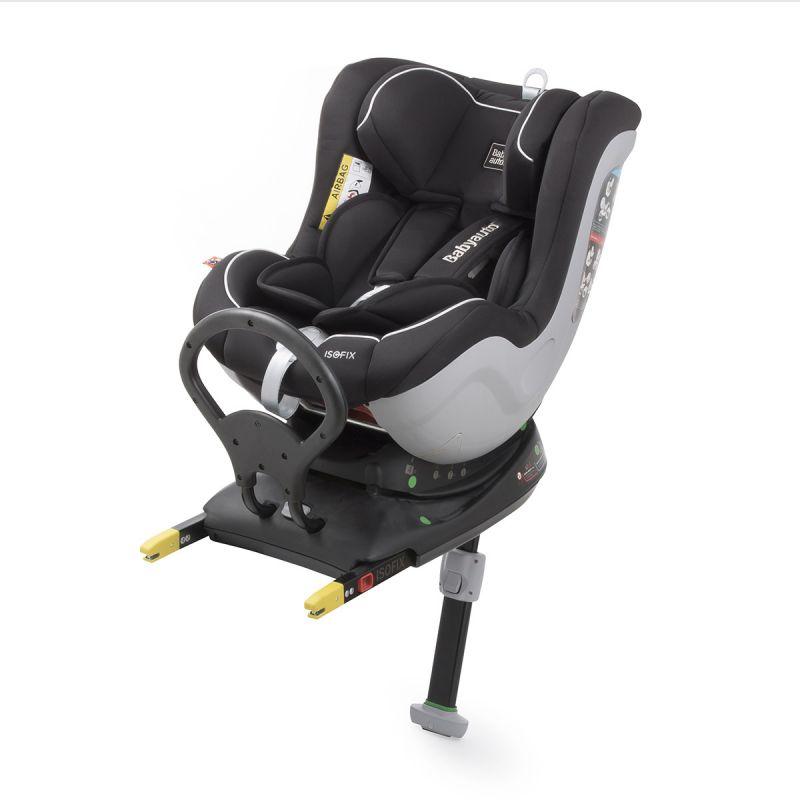 Silla de Coche Ruckko Plus negra Grupo 0+/1 - Babyauto