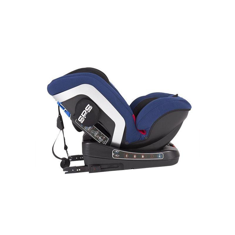 Silla de Coche Grupo 0/1/2/3 (0-36 kg) 4 Strong  color azul