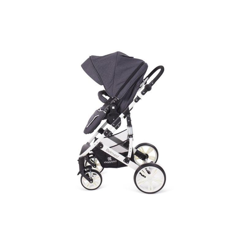 Cochecito de Bebé 2 en 1 Beloved - Kikkaboo dark grey