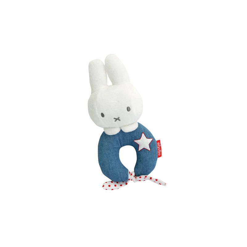 Sonajero Peluche Miffy - Rainbow Designs