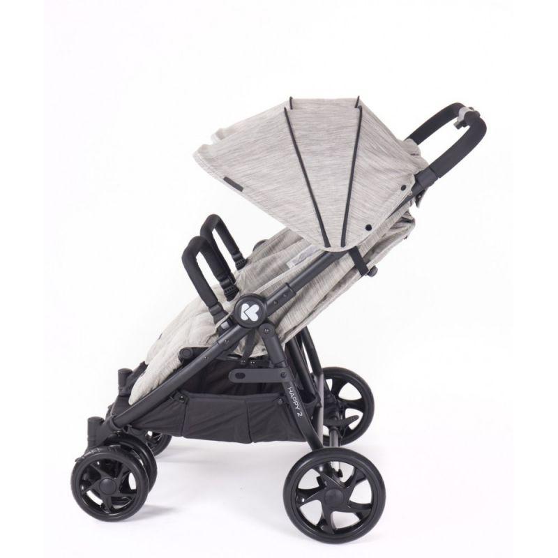 Carro para llevar dos niños