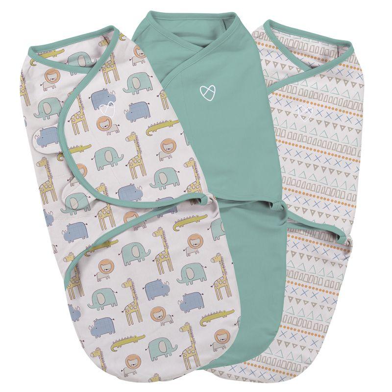 Swaddle Sketchy Safari 3 Unidades - Summer Infant