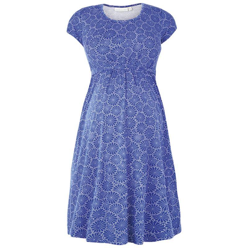 Vestido Túnica Premamá Azul Cobalto