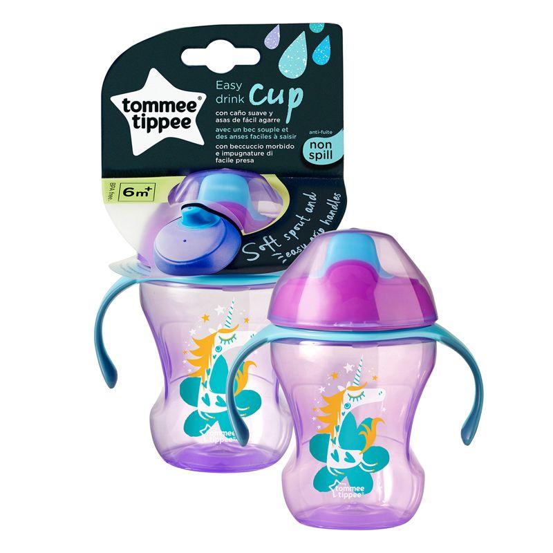Taza de entrenamiento Tommee Tippee  A partir de 7 meses + modelo unicornio