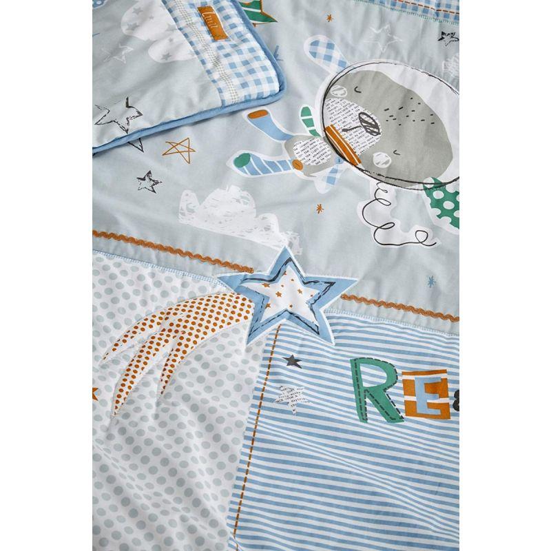detalle de la tela vestiduras para moises