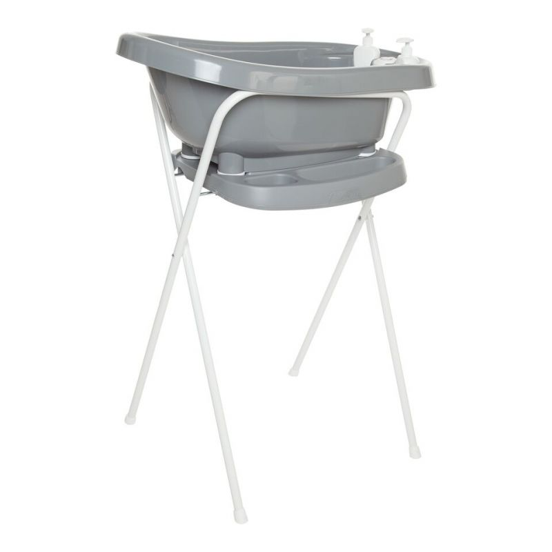 Set de Bañera Thermobath Fabulous con Soporte Griffin Grey