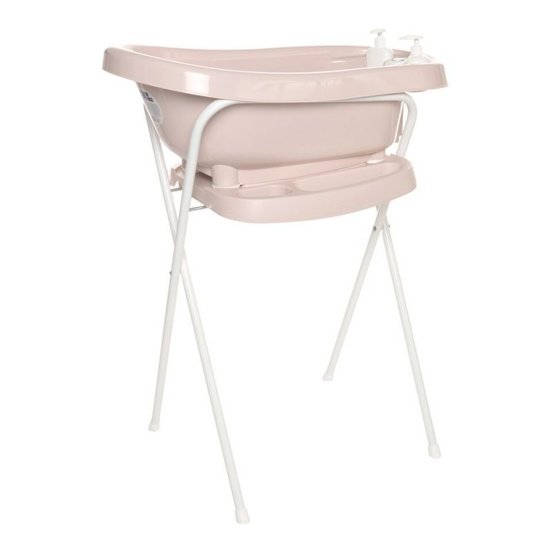 Set de Bañera Thermobath Fabulous con Soporte Mellow Rose