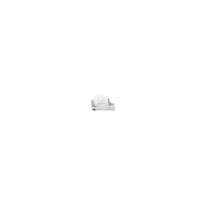 Trona de Madera de color blanco Plegable East Coast