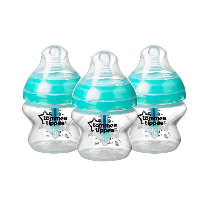 Biberones Tommee Tippee Anticólicos 150 ml - 3 Unidades - Color azul