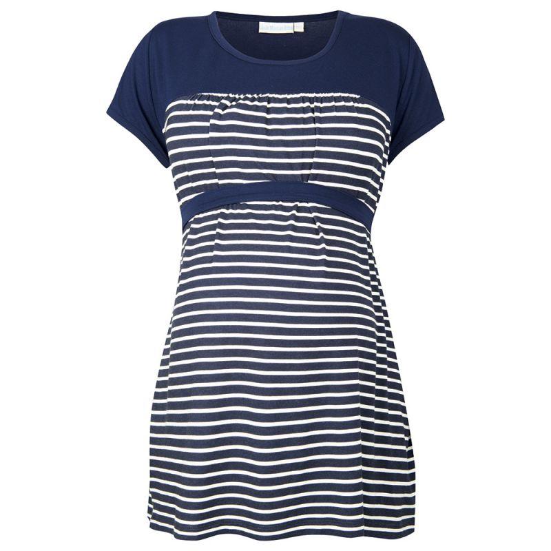 Camiseta Premamá Marinera Azul Marina