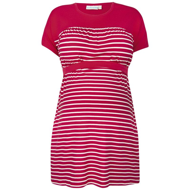 Camiseta Premamá Marinera Roja