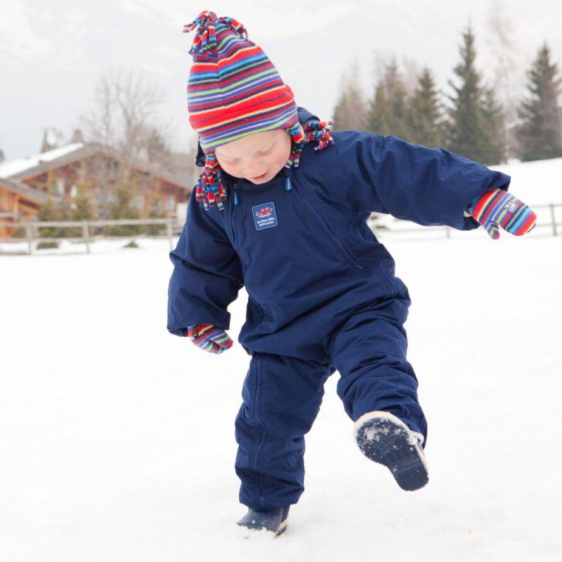 traje de nieve para niño