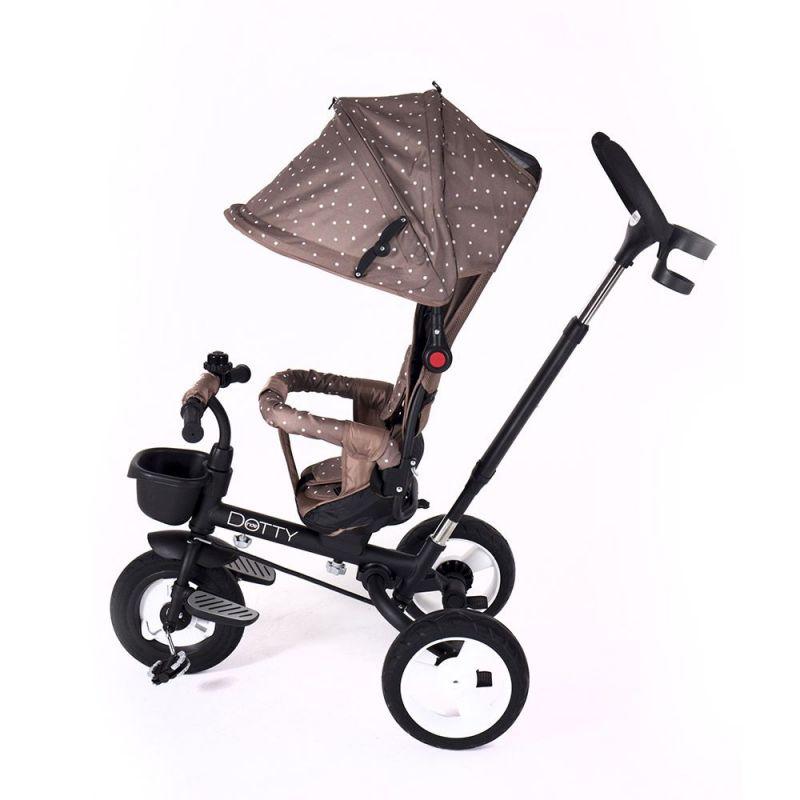 Triciclo Dotty Kikkaboo marron