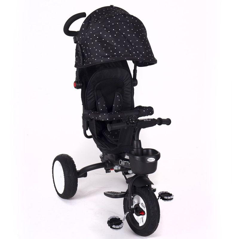 Triciclo Dotty Kikkaboo negro