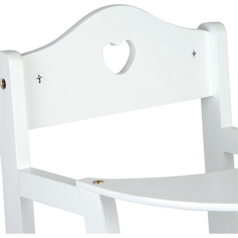 Trona blanca para Muñecas - Legler