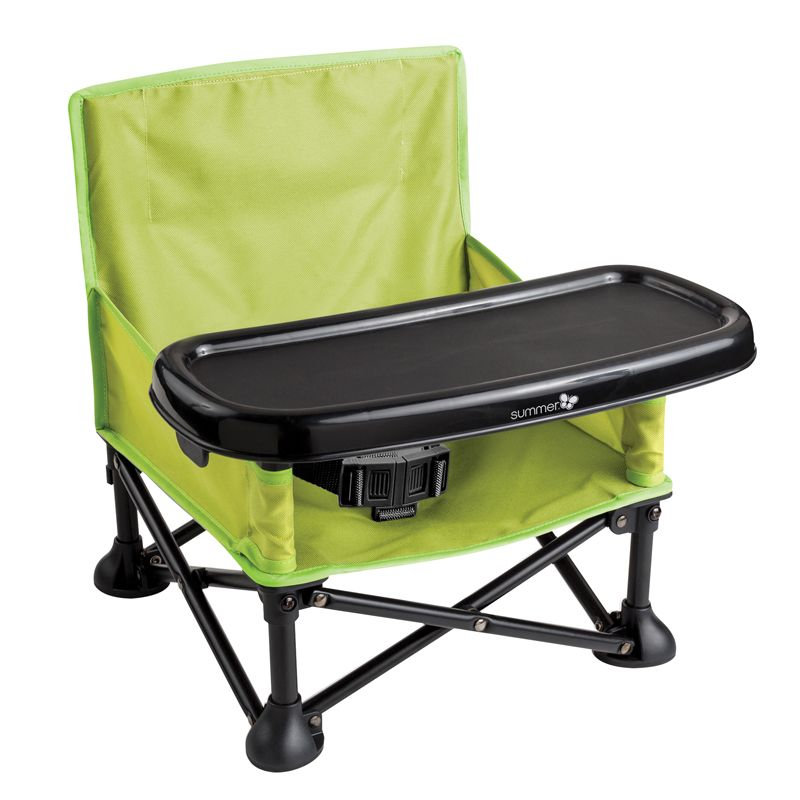 Trona Plegable Pop N Sit - Summer Infant verde