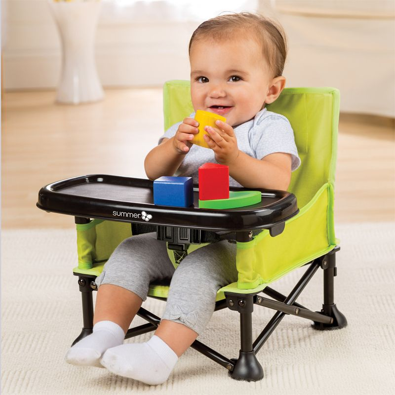 Trona Plegable Pop N Sit - Summer Infant color verde