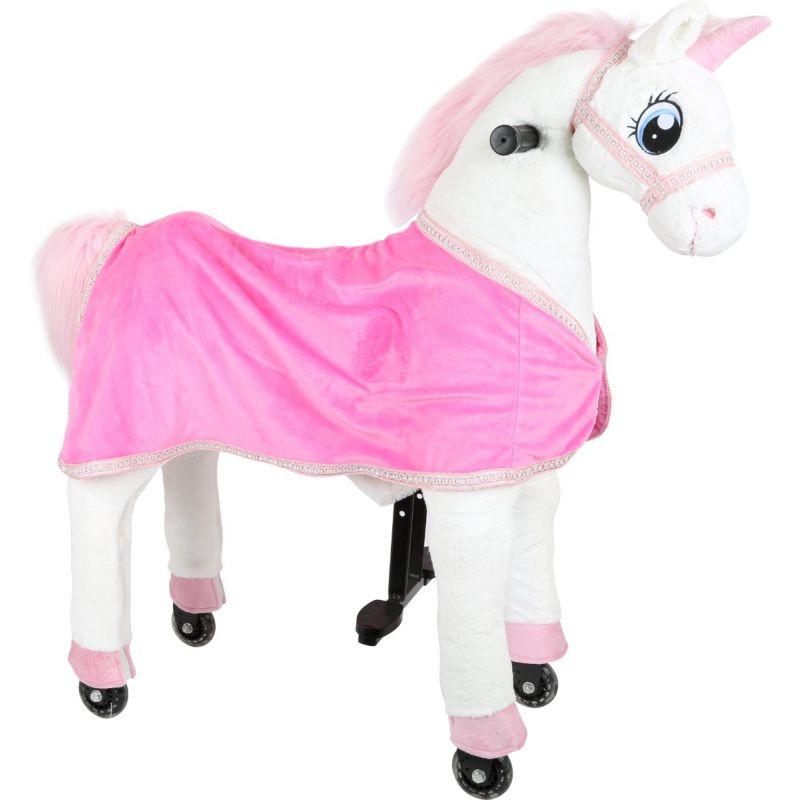 Unicornio con ruedas para montar