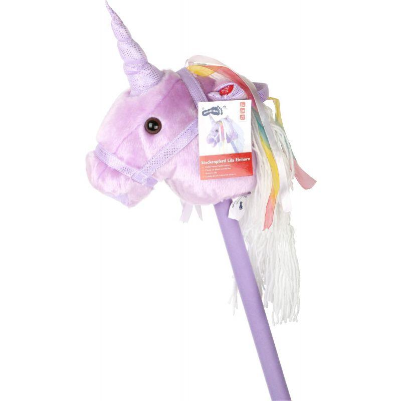 Unicornio de palo Lila con Sonido small foot company