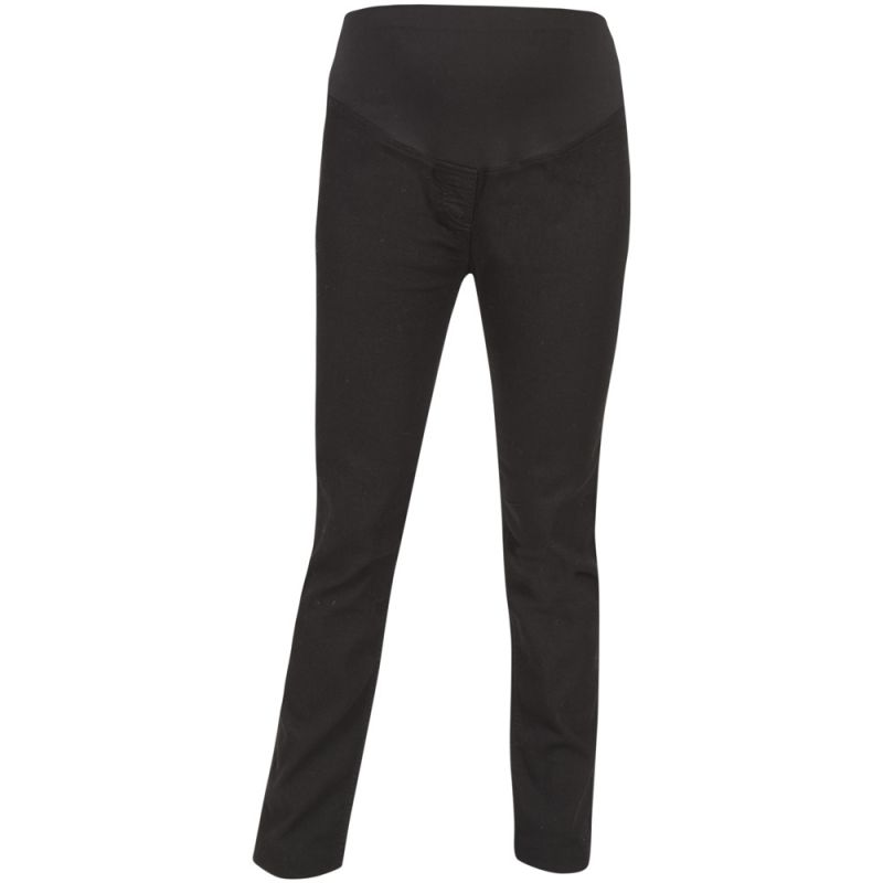 Pantalón Vaquero Premamá Slim en Color Negro